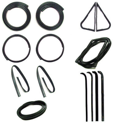 Door Seal Window Sweeps Channel Kit for 71-72 Ford Truck