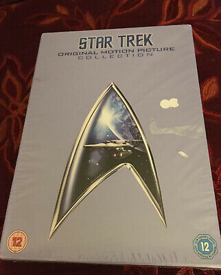 Star Trek: The Movies 1-6 (Box Set) [DVD] NEW ORIGINAL MOTION PICTURE SET