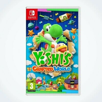 Yoshi's Crafted World sur Nintendo SWITCH / Neuf / Sous Blister / Version FR