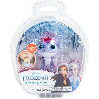❄NEW!Disney Frozen 2 II Whisper And & Glow Light Up Figure Bruni The Salamander