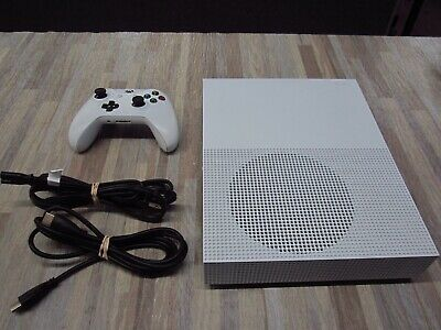Microsoft Xbox One S 1TB Console - White Complete Tested 1681