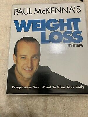 Paul McKenna's WEIGHT LOSS System Four Boxed CD's Stay Focused Get Back On Track