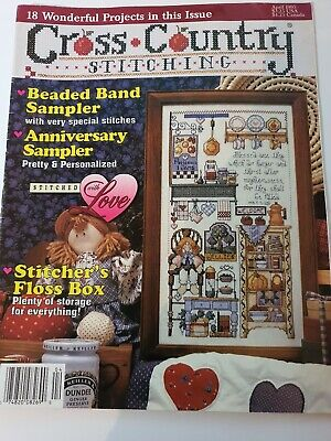 Cross Country Stitching, April 1995, used