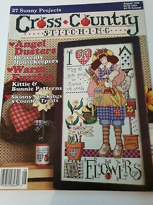 Cross Country Stitching, August 1996 used