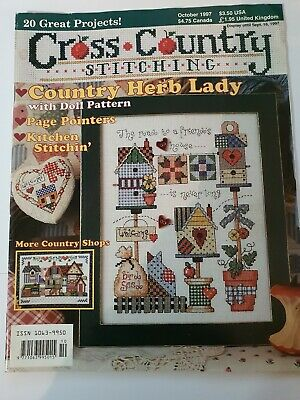 Cross Country Stitching, Oct  1997 used