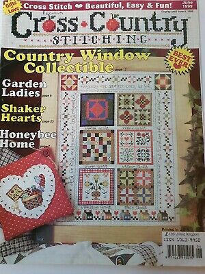 Cross Country Stitching, June 1999 used