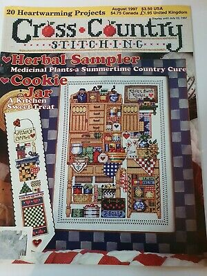 Cross Country Stitching, August 1997 used