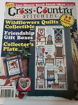 Cross Country Stitching, Jan 2001 used