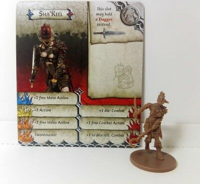 SHA'KEEL (Special Guest Adrian Smith) Zombicide Black Plague / Green Horde
