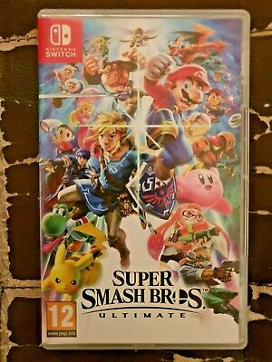 Super Smash Bros Ultimate (Nintendo Switch, 2018) - NEVER USED