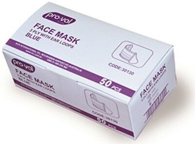 Disposable Face Mask with Ear Loops - 50 Pieces - Brand New !