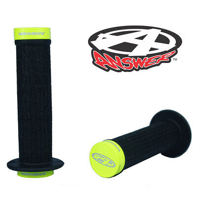 Troop Flanged Soft Rubber Fiction BMX Grips White