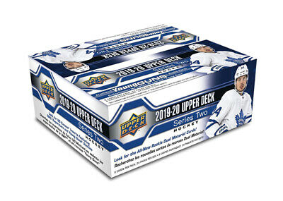2019-20 Upper Deck Series 2 Hockey Retail Box New/Sealed