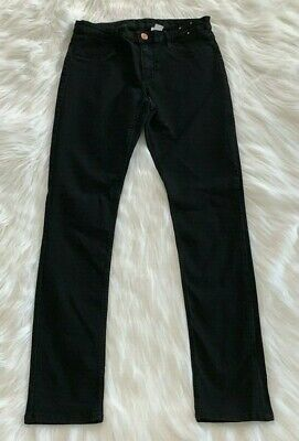 H&M Youth Boys Black Denim Skinny Jeans Pants - Size 13/14