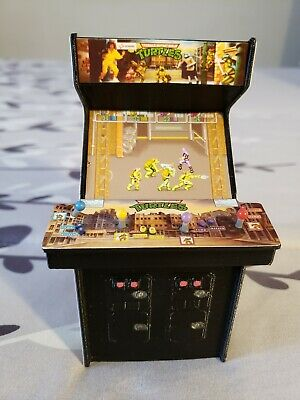 Tmnt Teenage Mutant Ninja Turtles Mini Cabinet Very Rare