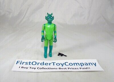 Vintage Star Wars 1978 HK COO Greedo Loose Figure COMPLETE C-9+