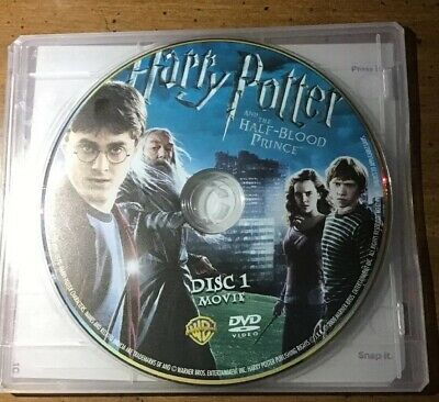 Harry Potter And The Half Blood Prince Dvd Movie Disc Only Preowned Tested