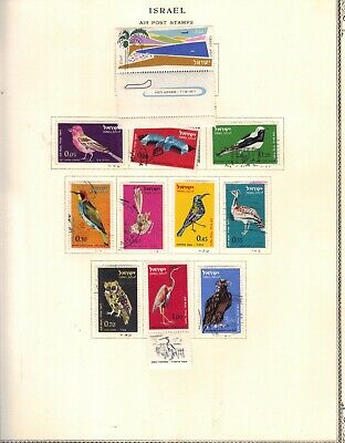 stamps  Israel 27  from pages see 5 scans +2