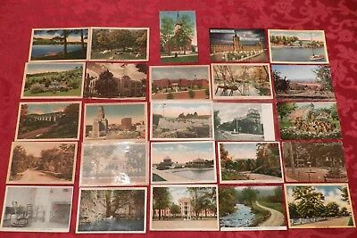 Lot of 25 Postcards (Lot 366) New York 25 Different Cities, Older Cards