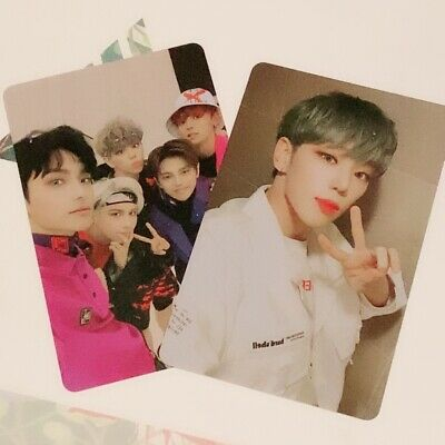 A.c.e Official 2019 China Fansign Photocards (Byeongkwan And Group Pc)