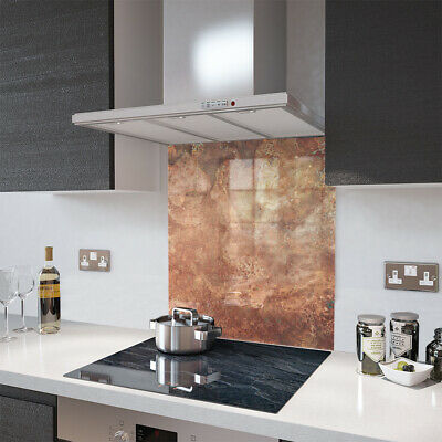 Glass Splashbacks Rustic Copper and Accessories - By Premier Range