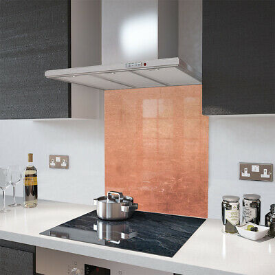 Glass Splashbacks Distressed Copper and Accessories - By Premier Range