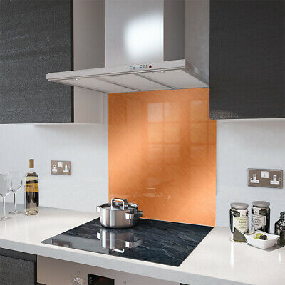 Glass Splashbacks Brushed Copper and Accessories - By Premier Range