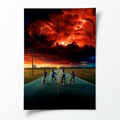 Stranger Things 2 POSTER Movie Film Series Wall Decor Art Print - A2 A3 A6 SIZE