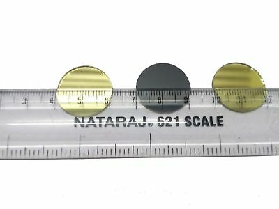 20 mm Round Golden Craft Glass Mirror Mosaic Hand Cut Stained Small Tile Decor