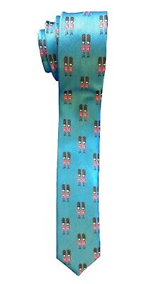 Next Boys Blue Tie London Soldier Wedding Formal Smart Party Novelty Ages 6-16 Y