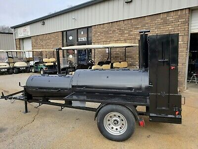 Competition Pitmaster BBQ Smoker 60 Grill 48 Trailer Mobile Catering Business