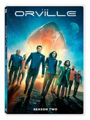 The Orville Season 2 Dvd New Sealed The Complete Second Season Seth Macfarlane