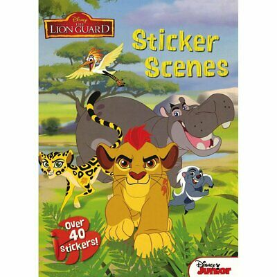 THE LION GUARD ALBUM FULL SET OF STICKERS X192