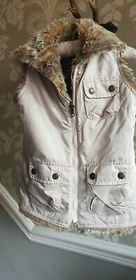 STUNNING reversible Vintage Girls Gap Gilet Bodywarmer sz 6 to 7 years