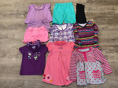 Mixed Lot Of 10 Girls Clothes 24 Months