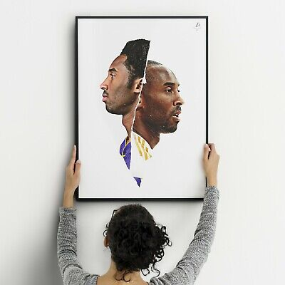 KOBE BRYANT POSTER #24 LAKERS - Los Angeles Wall Picture Art Print - A2 A3 16x24