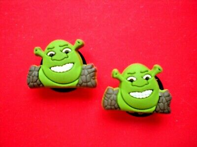 Garden Clog Charm Shoe Button Pin Plug Fit Hole Accessories Fit Wristbands Shrek