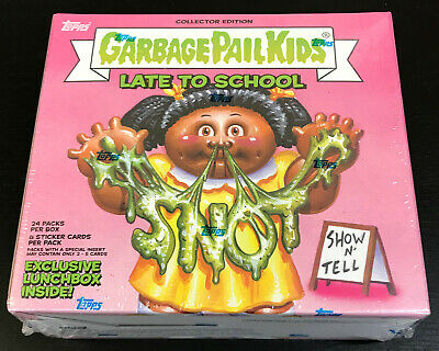 2020 Topps Garbage Pail Kids LATE TO SCHOOL COLLECTOR EDITION Box SEALED!!