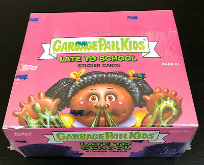 2020 Topps Garbage Pail Kids LATE TO SCHOOL HOBBY Box SEALED!!