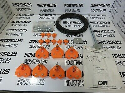 Cm Wire Rope Festoon System 3567 New