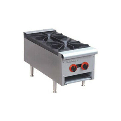 GasMax Cook Top NG 2 Burners With Flame Failure 300mm Wide RB-2