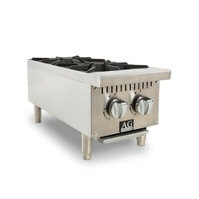 AG Two Burner Gas Cooktop Hob - 310mm width - Natural Gas AG Equipment|