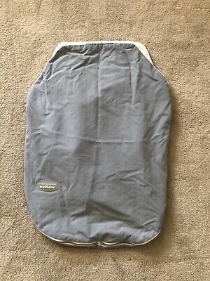 JJ Cole Collections Bundleme Car Seat Warm Cover Gray Baby Infant Stroller