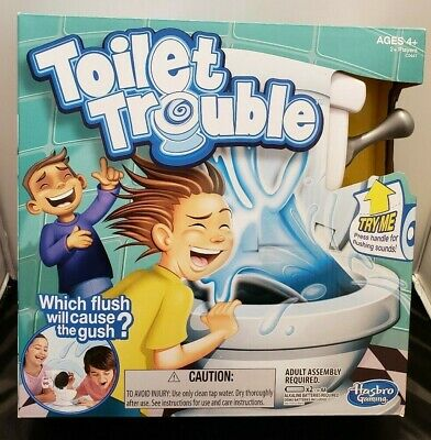 HASBRO Games Toilet Trouble Board Game Ages 4+