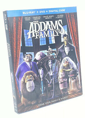 Addams Family, The [2020] Blu-ray+DVD+Digital Code with Slipcover, 2019 Animated