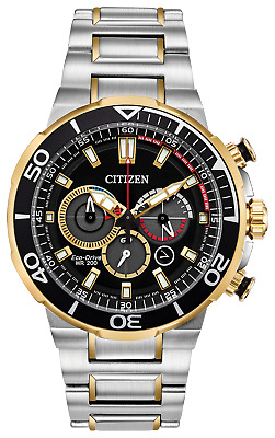 Citizen Brycen Eco-Drive Two-Tone Stainless Steel Men's Watch CA4258-87E