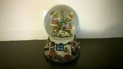 Decorative Christmas Musical Snow Globe