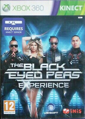 THE BLACK EYED PEAS EXPERIENCE     With Instructions X-BOX 360 KINECT     (X003)