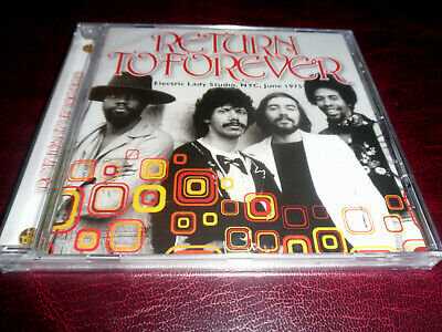 Return To Forever - Electric Lady Studios 1975 - Cd - Chick Corea/Stanley Clarke