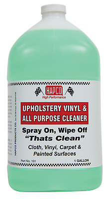 HAPCO - 1 Gallon Vinyl & Upholstery Cleaner -CLEANS DIRT, GREASE AND OIL FAST!